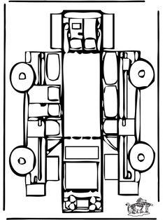 Bouwplaat auto