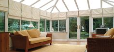 window treatment for conservatory