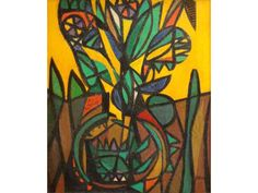 Genaro de Carvalho (1926-1971) Pattern Art, My Arts, Tapestry, Colour, Painting, Image, Collection, Tapestries, Color