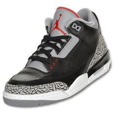 2143aa630182e Nike Air Jordan 3 Retro 88 Black Cement Style 136064 010 (12)
