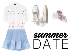 """Summer Date"" by nicoli-c on Polyvore featuring moda e Topshop"
