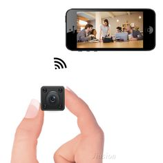 Mini Spy Camera WiFi, Bysameyee Hidden Wireless Remote Camcorder with Indoor Security Night Vision/Motion Detection, IP Security Camera Portable for IOS Android CellPhone Ip Security Camera, Wireless Security Cameras, Security Alarm, Nocturne, Mini Spy Camera, Nanny Cam, Wireless Home Security Systems, Hidden Camera, Aliexpress