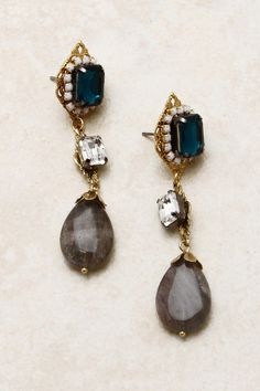 Sapphire Crystal Illume Earrings | Emma Stine Jewelry Earrings