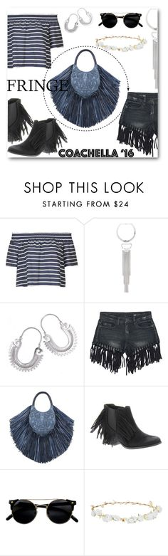 """""""Coachella 2016"""" by letiperez-reall ❤ liked on Polyvore featuring Topshop, Bebe, NOVICA, Sans Souci, Barbara Bonner, Coconuts, Robert Rose and fringe"""
