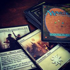 saturday morning with the #Kids ... #lost #magicthegathering ... 4 times #game #leisure