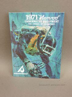 Vintage 1971 Nemrod Scuba Catalog Double Regulator Spearguns See More This Week   eBay