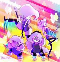 crystal gem takeover: amethyst
