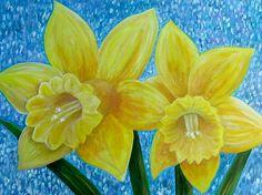 Darling Daffodils www.arasartwork.blogspot.fr #daffodils #spring