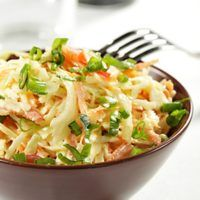 Creamy Peanut Coleslaw Recipe: Mixed Salad Recipes on WebMD Healthy Eating Tips, Healthy Dishes, Healthy Recipes, Thai Recipes, Healthy Salads, Peanut Coleslaw Recipe, Coleslaw Recipes, Vegetable Dishes, Vegetable Recipes