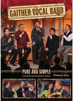 Gaither Vocal Band Pure and Simple Volume One DVD 2013 - $14.99