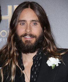 We know he's got a band and an acting career and what must be a pretty intensive hair maintenance regimen, but if Jared Leto has the time, we'd love to see him pull a shift at our local mall. Better yet, just slide him down our chimney for some milk…