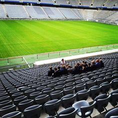 3. Digital Transformation Live Talk - Stadion mal ohne Fußball in der Allianz Arena München.