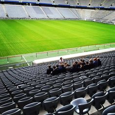 3. Digital Transformation Live Talk - Stadion mal ohne Fußball in der Allianz Arena München.