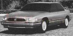 OG 1992 Buick LeSabre Design proposal in fullsize