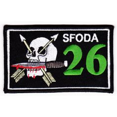 ODA-026 Patch United States ARMY Co B 1st Battalion 10th Mountain Special Forces Group SPFG ODA-026 M...