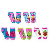 Shopkins Low Cut Ankle Socks Set - 5 Pack