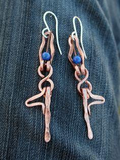 Yoga jewelry Little Yogi in Tree Earrings Tree by lemuriandiamond, $45.00