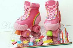 'Roller Skates' Cake                                                                                                                                                                                 «CaKeCaKeCaKe»