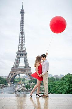 Dreamy Paris Engagement Shoot