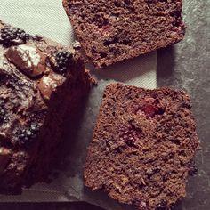 Bowl & spoon - Cake double chocolat aux mûres