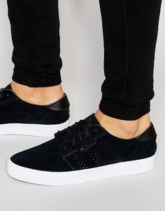 Cool adidas Originals Seeley Essential Trainers AQ8378 - Black adidas Originals Løbesko til Herrer i behageligt materiale