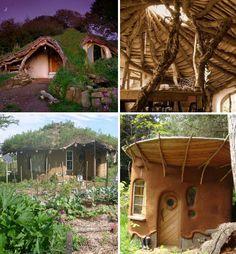 Cob Building Hobbit Houses