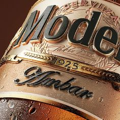 Estilo3D - Cerveza Modelo #packaging #design — World Packaging Design Society│Home of Packaging Design│Branding│Brand Design│CPG Design│FMCG Design