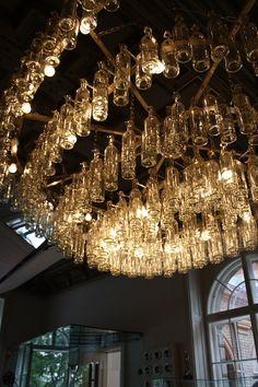 Éclairage restaurant du Musée des Arts appliqués de Vienne