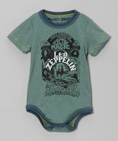 Take a look at this Smoked Pine 'Led Zeppelin' Bodysuit - Infant by Rowdy Sprout on #zulily today!