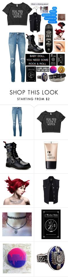 """""""I saw you run away"""" by pastel-punk-princess-of-night ❤ liked on Polyvore featuring Zoe Karssen, Demonia, Charlotte Russe, Manic Panic NYC, Kori, LE3NO and CASSETTE"""