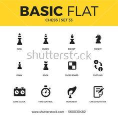 Αποτέλεσμα εικόνας για chess icons flat design material design