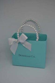 7952f17583 23 Best Tiffany bags images in 2018 | Party favor bags, Quinceanera ...