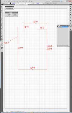 Step 1 - Laying out initial measurements in Adobe Illustrator