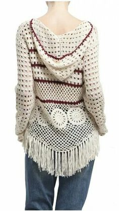 Suéter en crochet