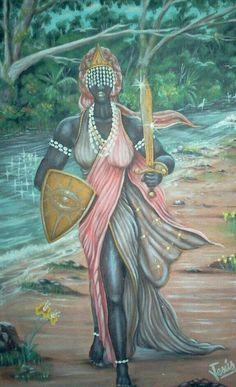 Obá- Pintura de Jesus Miguel Quintana