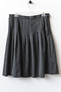 Isaac Mizrahi for Target- Gray pleated skirt, Size 8