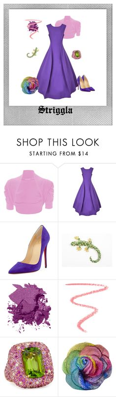 """Rapunzel"" by striggla on Polyvore featuring Polaroid, WearAll, Natasha Zinko, Christian Louboutin, Bobbi Brown Cosmetics, By Terry, Margot McKinney and Judith Leiber"