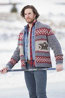 b2009cc90a3 Eagle Island Cardigan pattern by Meghan Babin. Intarsia KnittingKnitting  SocksCowichan SweaterCardigan ...
