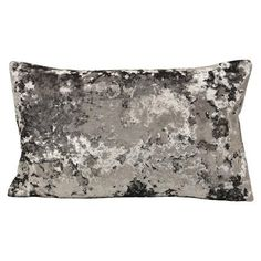 Cushion with Marble Effect in Grey