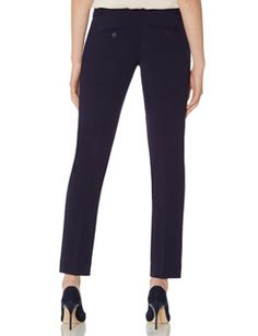 Refined Ankle Trouser Pants