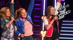 Ilse vs. Iris vs. Stephanie - One Way Or Another (The Voice Kids 2014: T...