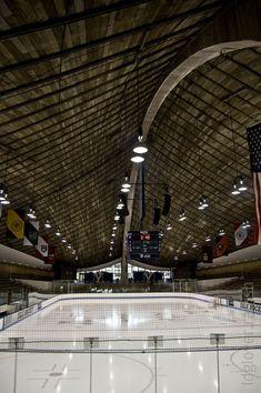 Yale University's Ingalls Ice Arena (Architect: Eero Saarinen)