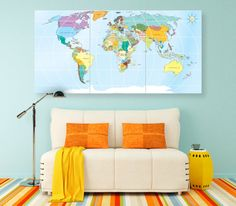 Outlined world map decal with continents vinyl wall sticker decals outlined world map decal with continents vinyl wall sticker decals home decor wall decals stick on wall art by outlined world map sd 090 pinterest gumiabroncs Gallery