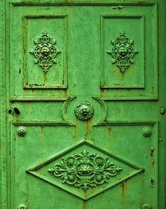 very green door