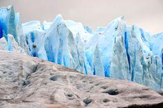 Patagonia, Glaciar Perito Moreno, ensiaskeleet jäätiköllä