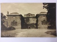 Oxford, Worcester College, ( Founded A. D 1714 ) Postcard 253