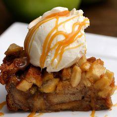 Apple Pie Bread Pudding Recipe by Tasty