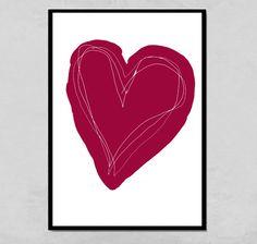 Kunstdruck  von PapierMond auf DaWanda.com