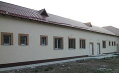 After--Ghimpati Hospital Renovation USD 000 for the renovation of the Ghimpati Emergency Hospital in Giurgiu County. This project will benefit Romanian citizens. Emergency Hospital, Romania, Benefit, Garage Doors, Outdoor Decor, Projects, Home Decor, Log Projects, Blue Prints