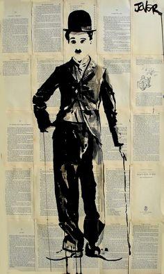"Saatchi Online Artist: Loui Jover; Pen and Ink, 2013, Drawing ""charlie"""